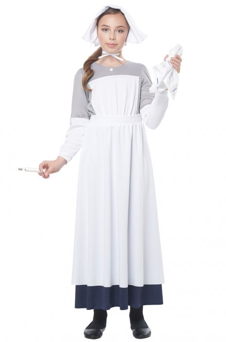 908f504dacfa7 American Civil War Nurse Child Costume - PureCostumes.com