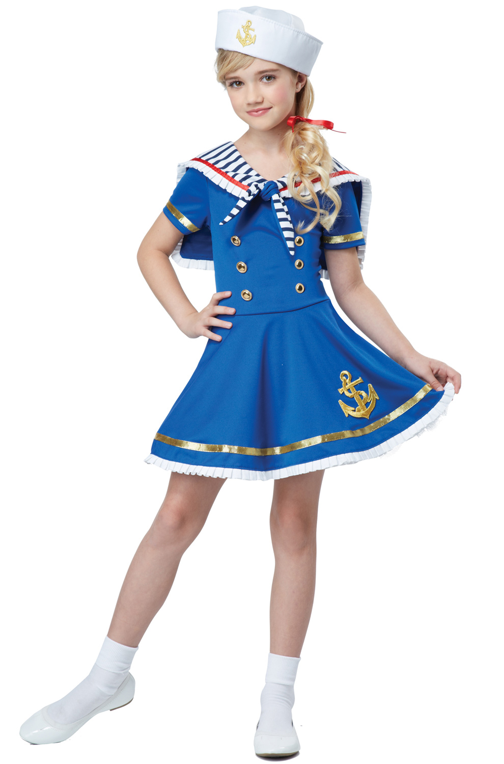 Sunny Sailor Girl Child Costume Purecostumes Com