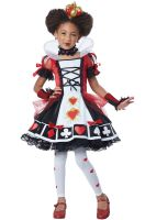 Deluxe Queen of Hearts Child Costume