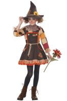 Patchwork Scarecrow Girl Child Costume