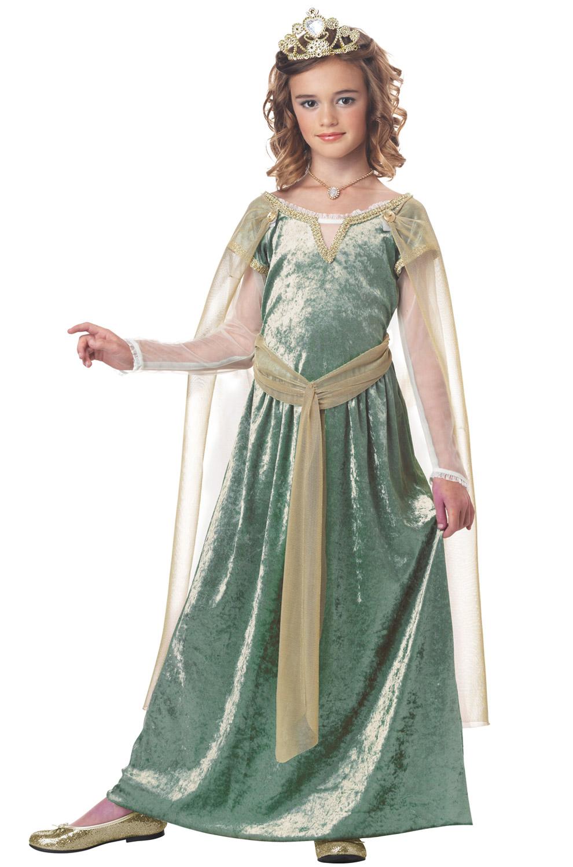 Queen Guinevere Child Costume Purecostumes Com