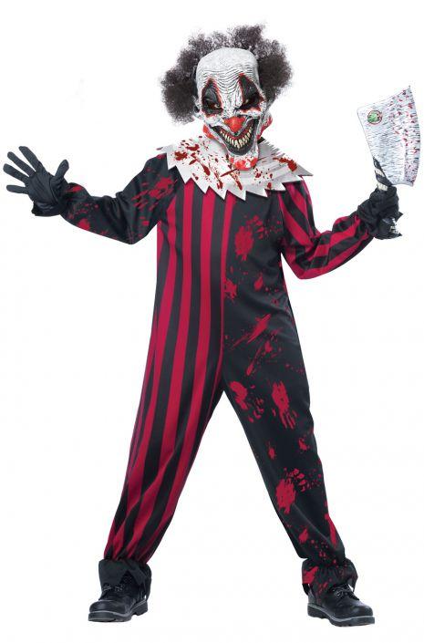 Killer Clown Child Costume  sc 1 st  Pure Costumes & Killer Clown Child Costume - PureCostumes.com