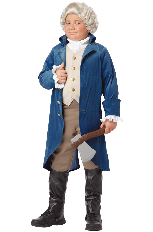 George Washington (Thomas Jefferson) Child Costume ...