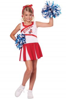 Back to School Costumes High School Cheerleader Child Costume
