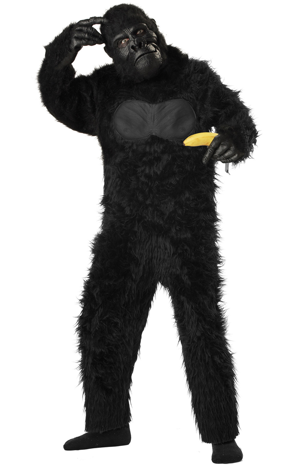 how to make a gorilla costume