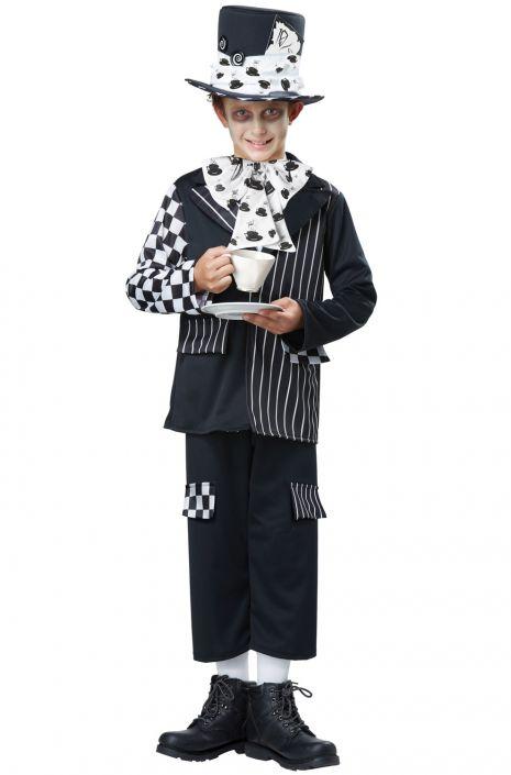 Dark Mad Hatter Child Costume