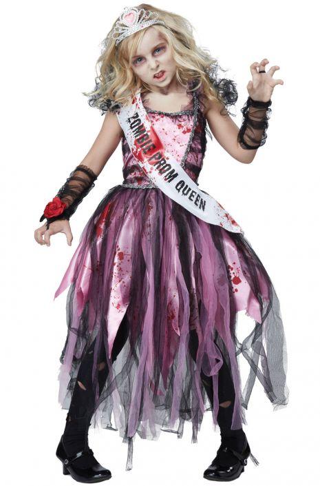 Undead Prom Queen Child Costume - PureCostumes.com