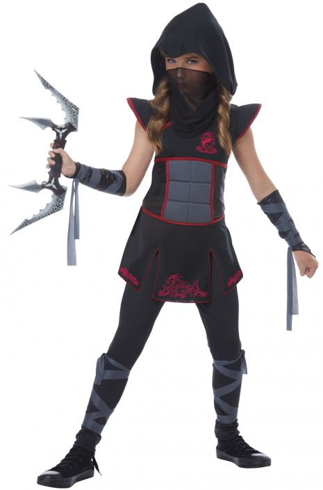 Mysterious Fearless Ninja Child Costume  sc 1 st  Pure Costumes & Mysterious Fearless Ninja Child Costume - PureCostumes.com