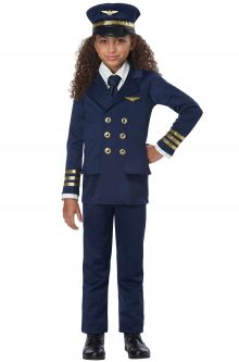 Airplane Pilot Child Costume  sc 1 st  Pure Costumes : child aviator costume  - Germanpascual.Com