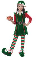 Festive Elf Child Costume