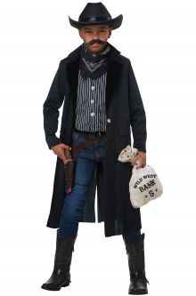 2017 New Costume Picks Wild West Sheriff/Outlaw Child Costume