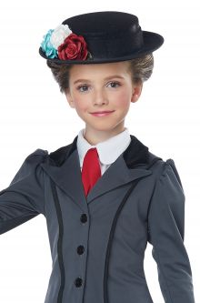 Child Costume English Nanny Mary Poppins