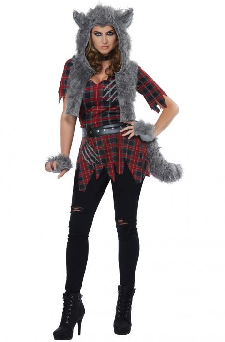 She-Wolf Adult Costume  sc 1 st  Pure Costumes & She-Wolf Adult Costume - PureCostumes.com
