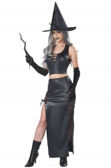 Rich Witch Women Adult Costume