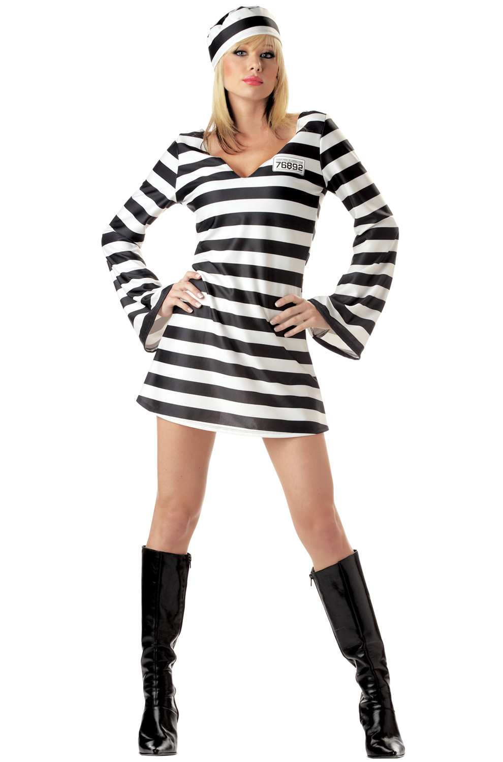 Sexy Women Jail Prison Convict Chick Adult Halloween ...