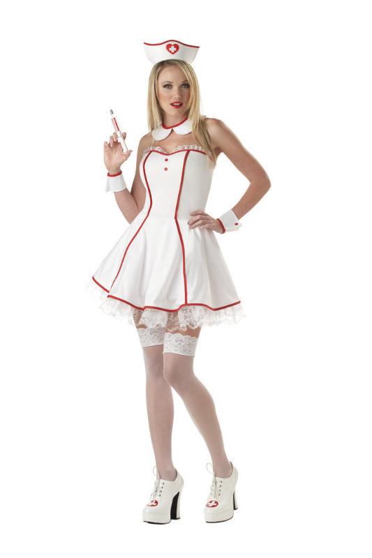 Sexy Sweetheart Nurse Adult Costume