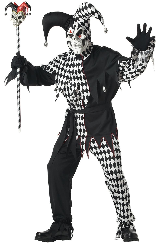 Evil Jester Adult Costume