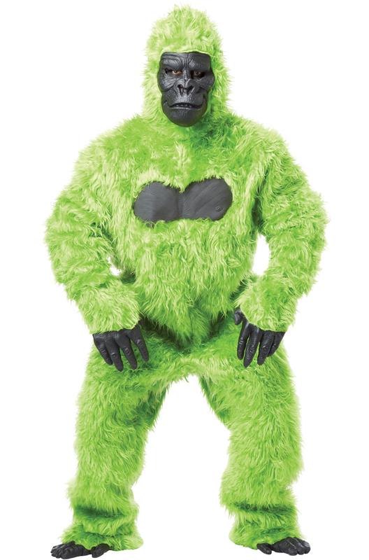 Brand New Gorilla King Kong Men Suit Adult Halloween Costume