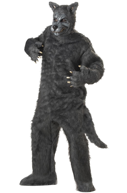 Adult Plus Size Costumes: Big Bad Wolf Adult Costume
