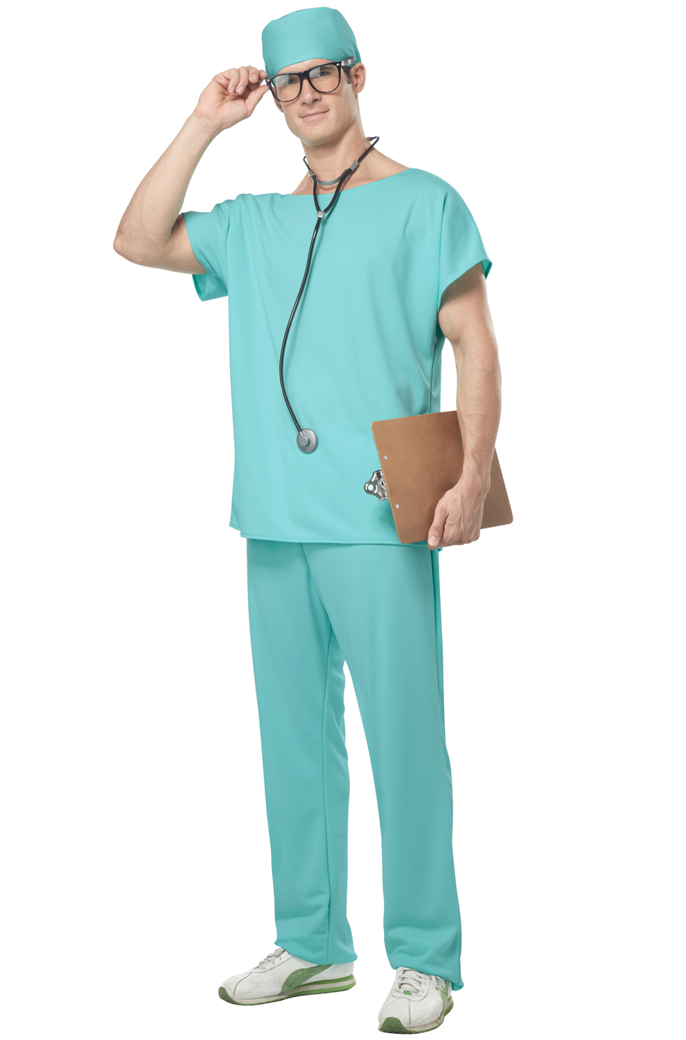 Doctor Scrubs Adult Costume - PureCostumes.com