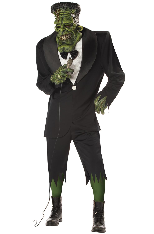 big frank frankenstein adult halloween costume ebay. Black Bedroom Furniture Sets. Home Design Ideas
