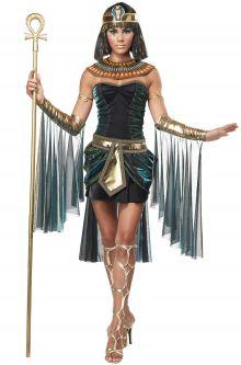 Egyptian Goddess Adult Cleopatra Costume Gay Pride Fashion