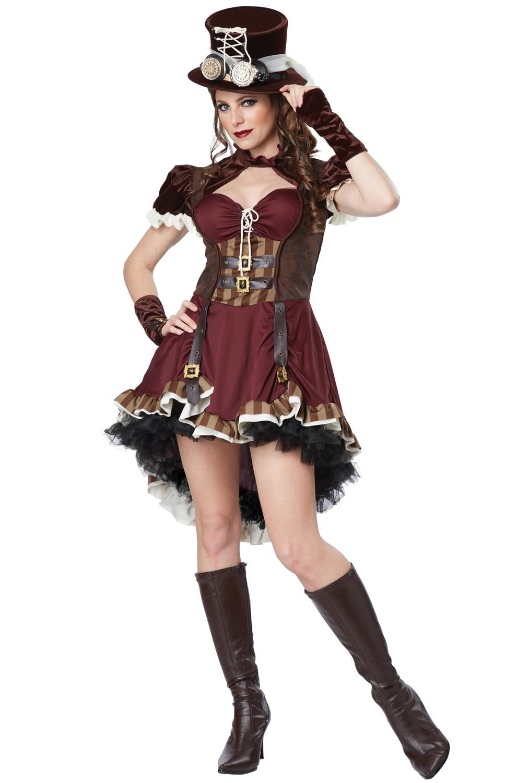 steampunk girl adult costume. Black Bedroom Furniture Sets. Home Design Ideas