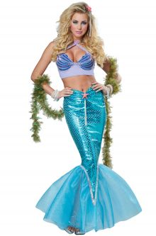Expensive vs Affordable Costumes Deluxe Mermaid Adult Costume