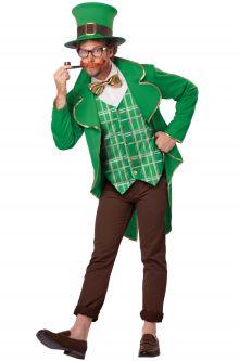 Charming Lucky Leprechaun Adult Costume