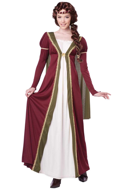 Medieval Maiden Adult Costume PureCostumes Com