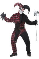 Sinister Jester Adult Costume