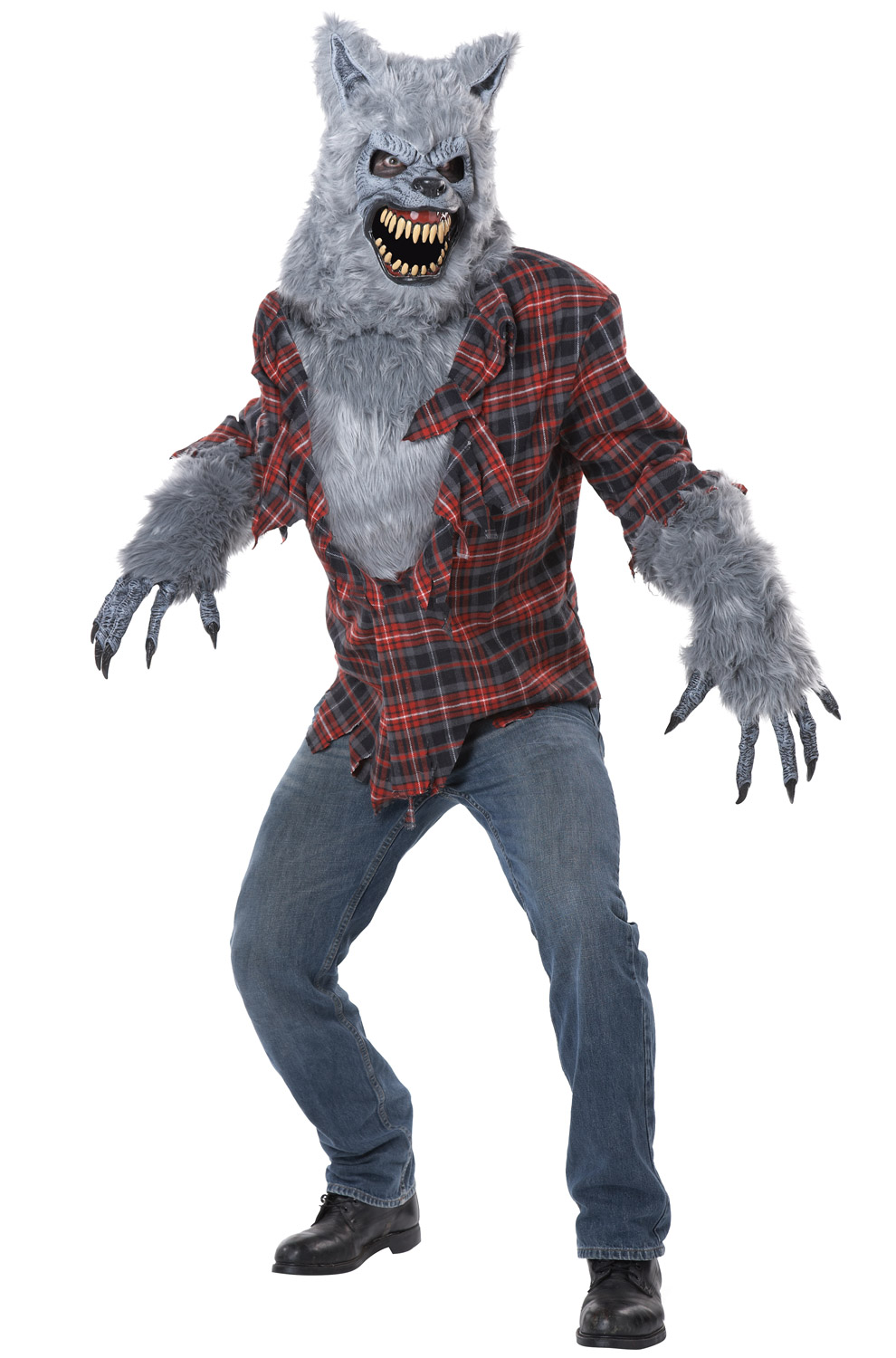 Gray Lycan Adult Costume