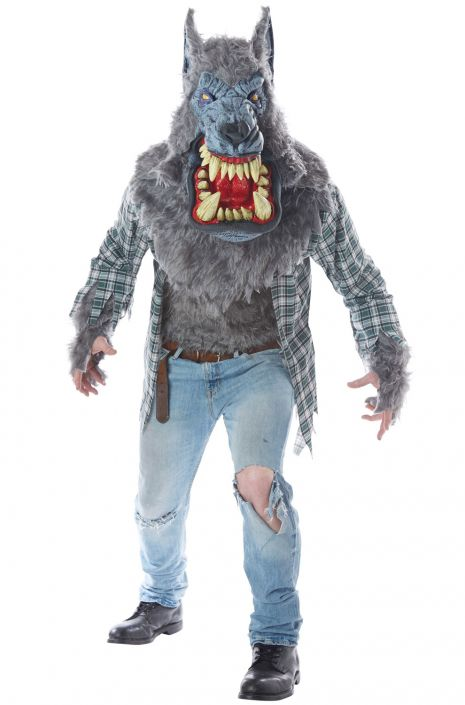 Monster Wolf Adult Costume  sc 1 st  Pure Costumes & Monster Wolf Adult Costume - PureCostumes.com