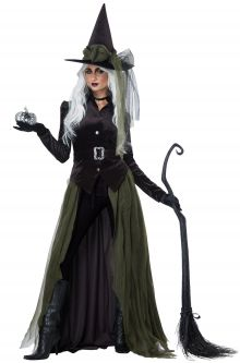 Gothic Witch Adult Costume  sc 1 st  Pure Costumes & Adult Gothic Costumes - PureCostumes.com