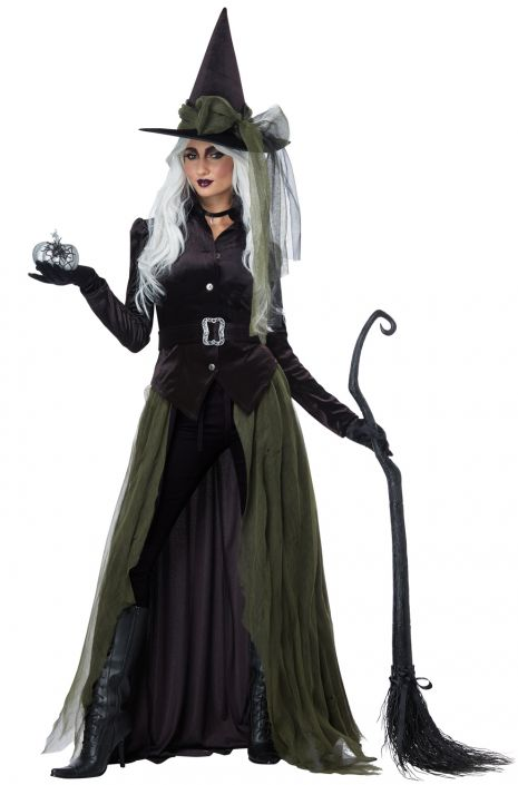 Gothic Witch Adult Costume  sc 1 st  Pure Costumes & Gothic Witch Adult Costume - PureCostumes.com