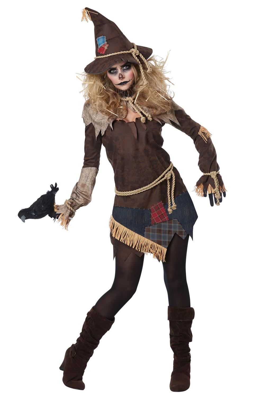 Creepy Scarecrow Adult Costume - PureCostumes.com
