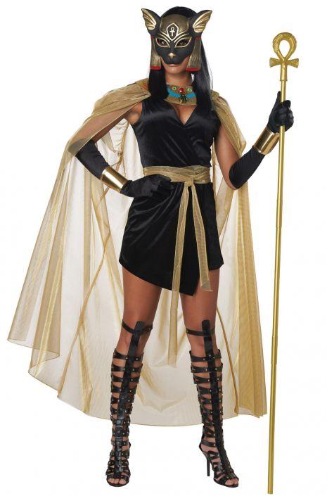 Feline Goddess Bastet Adult Costume