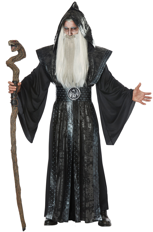 Dark Wizard Adult Costume  sc 1 st  Pure Costumes & Wizard Costumes - Magician and Mage Costumes - PureCostumes.com