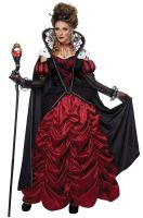 Dark Queen of Hearts Adult Costume
