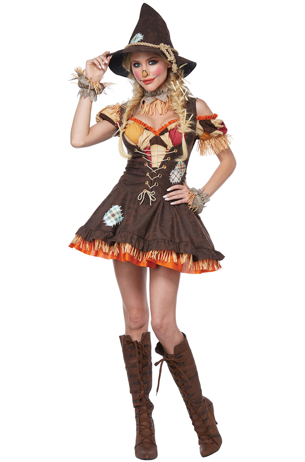 Halloween Costume Ideas For Groups: Sassy Scarecrow Adult Costume