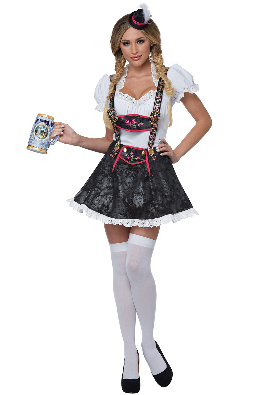 Flirty Fraulein Adult Costume Purecostumes Com