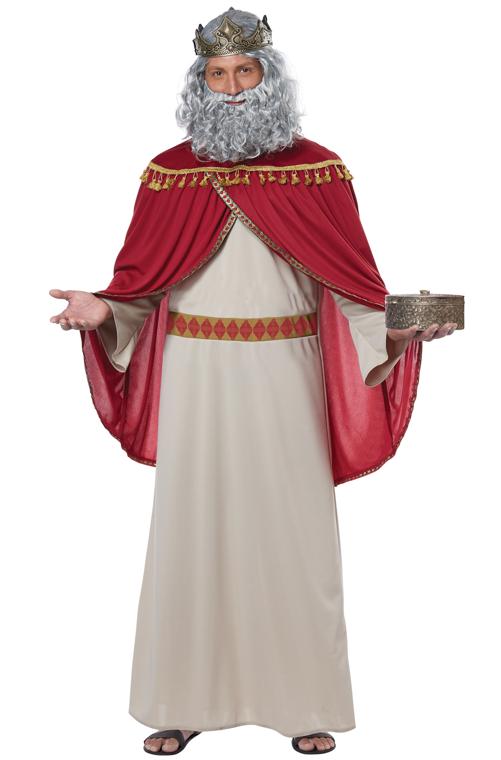 Melchior The Wise Man Three King Christmas Biblical Religious Mens Costume