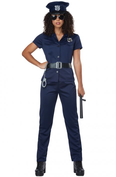 Classic Police Woman Adult Costume  sc 1 st  Pure Costumes & Classic Police Woman Adult Costume - PureCostumes.com