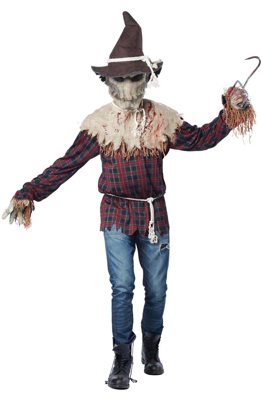 Sadistic Scarecrow Adult Costume Purecostumes Com