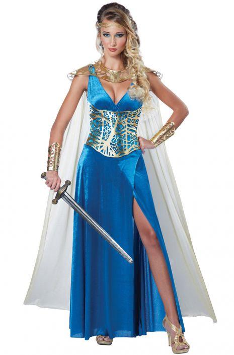 Warrior Queen Adult Costume - PureCostumes.com