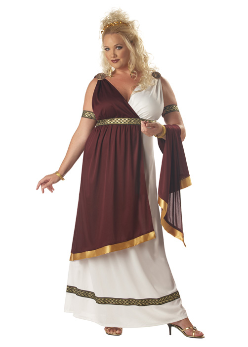 Plus Size Roman Empress Costume Purecostumes