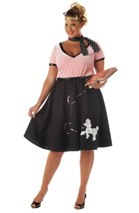 50\'s Sweetheart Plus Size Costume