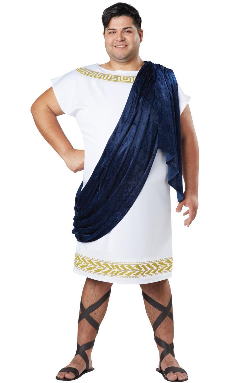 Grecian Toga Plus Size Costume Purecostumes Com