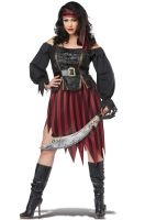 Queen of the High Seas Plus Size Costume