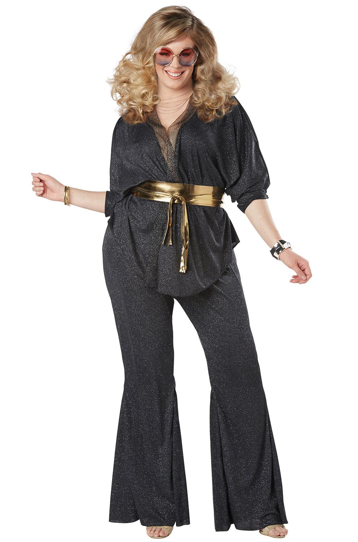 Disco Dazzler Plus Size Adult Costume Purecostumes Com